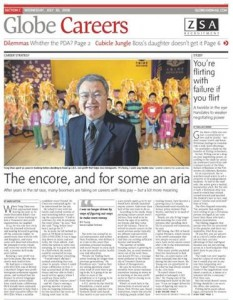 Newspaper about Tung Chan
